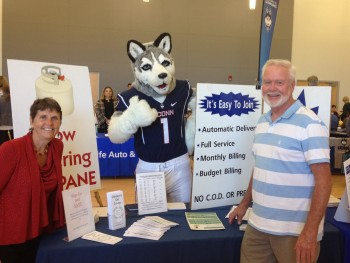 Mark and Rosie at UCONN Fair